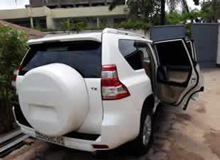 Luxury Car Rental Congo