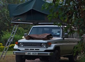 Car Hire in Uganda with Rooftop tent