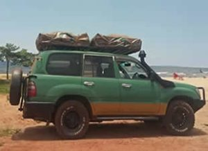 Rooftop Tent landcruiser Uganda