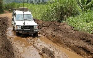 Roads in Congo