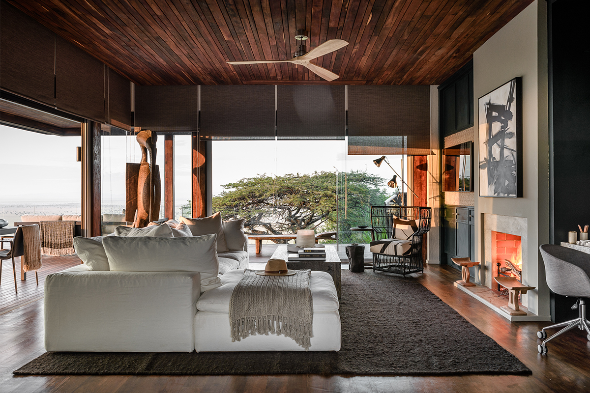 Luxury Lodge in Serengeti